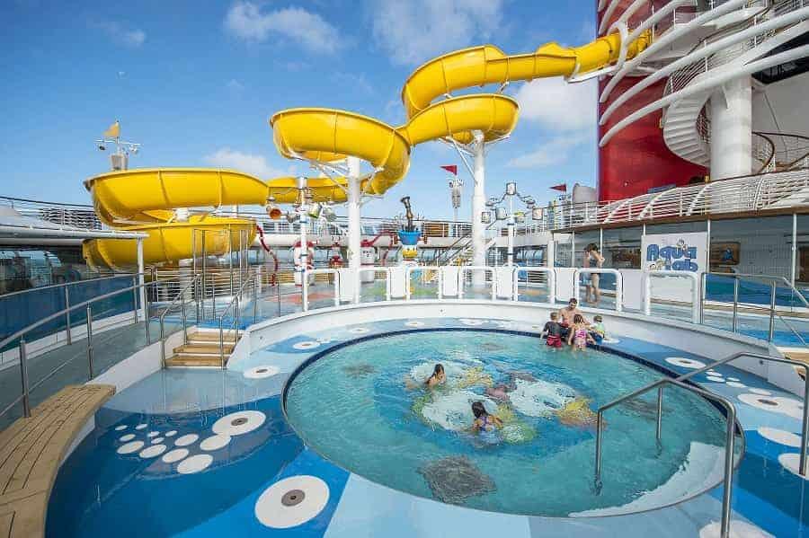 Disney Wonder Kids Pool Area