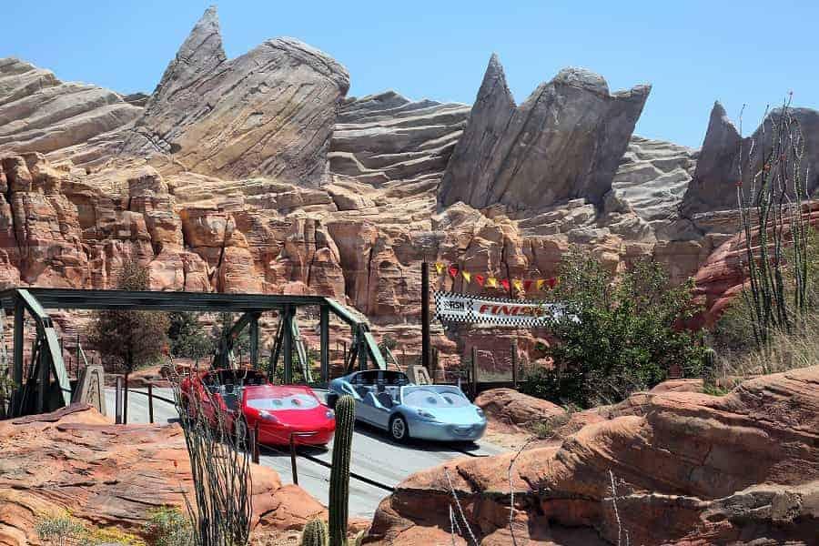 Radiator Springs Racing Ride