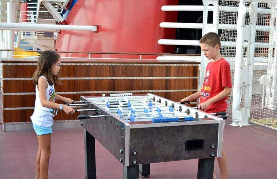 Sports on the Disney Dream