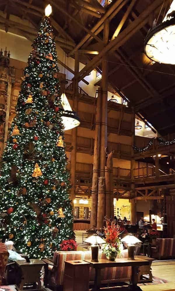 Christmas at Wilderness Lodge Resort