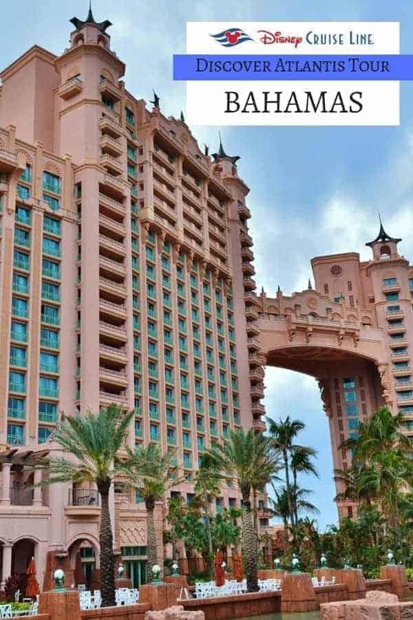 Disney Cruise Discover Atlantis Tour