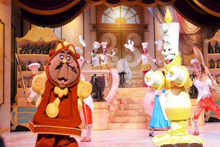 Watch the Beauty and the Beast LIVE show