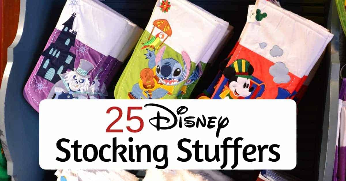 Great list of Disney Stocking Stuffers