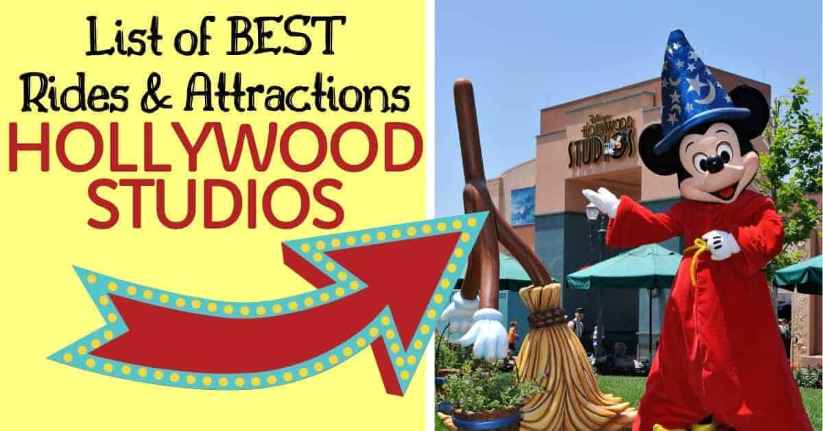 List of the best rides & attractions in Hollywood Studios