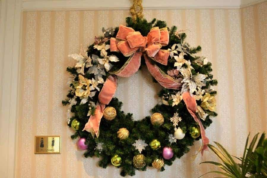 Christmas Wreath at Grand Floridian