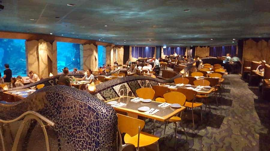 Coral Reef Dining Area