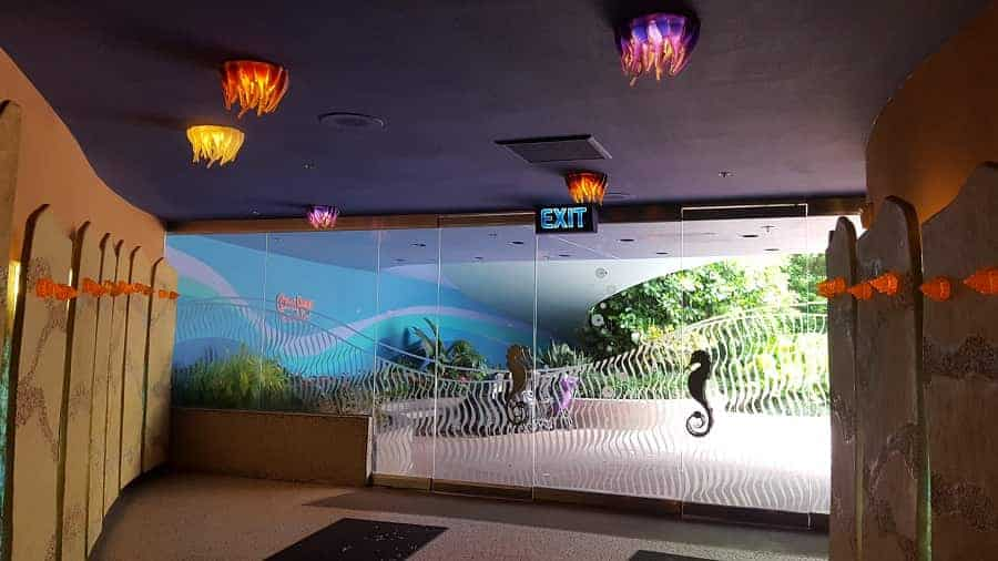Entrance to Coral Reef