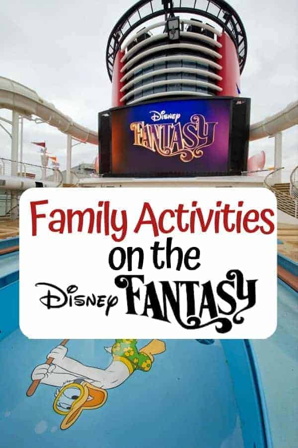 Family Activities on the Disney Fantasy Cruise Ship