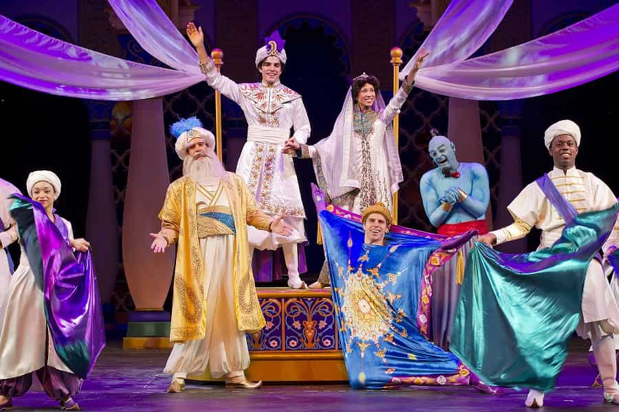 Disney Fantasy Broadway Style Shows