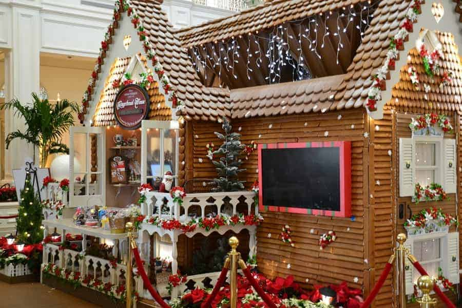 Grand Floridian Gingerbread Shop