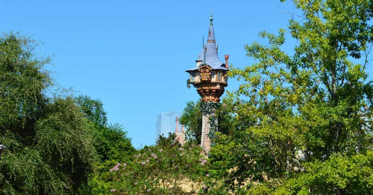 Rapunzel's Tower in Magic Kingdom