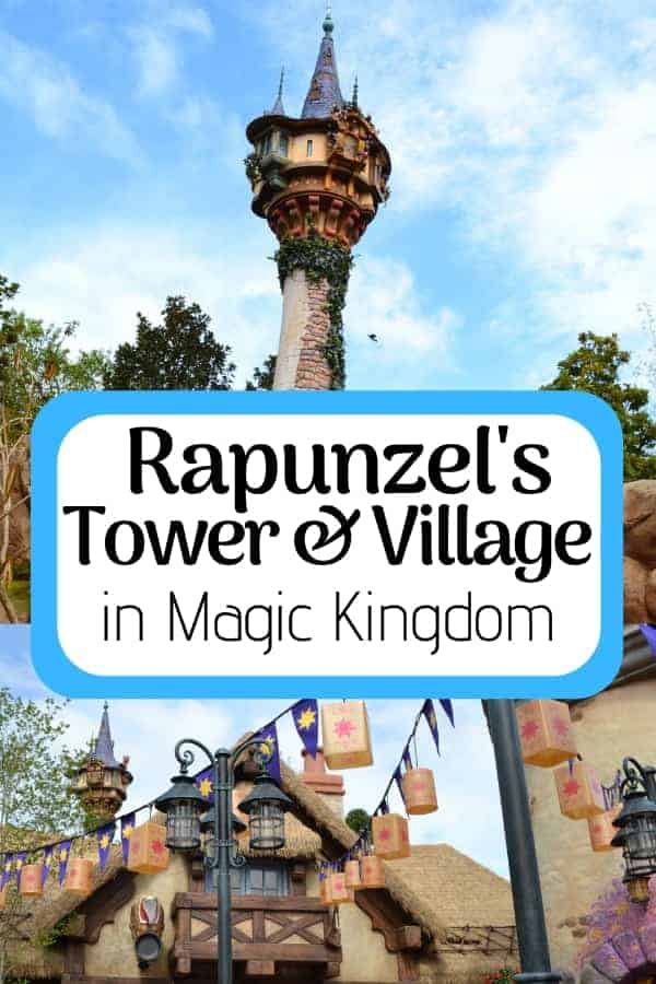 Look for Rapunzel's Tower in Magic Kingdom