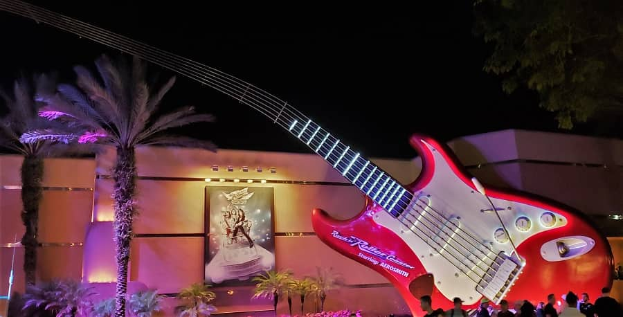 Rockin Roller Coaster in Hollywood Studios