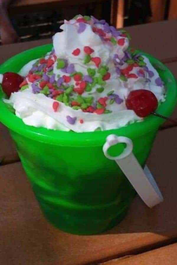 Sand Pail Ice Cream Bucket Sundae