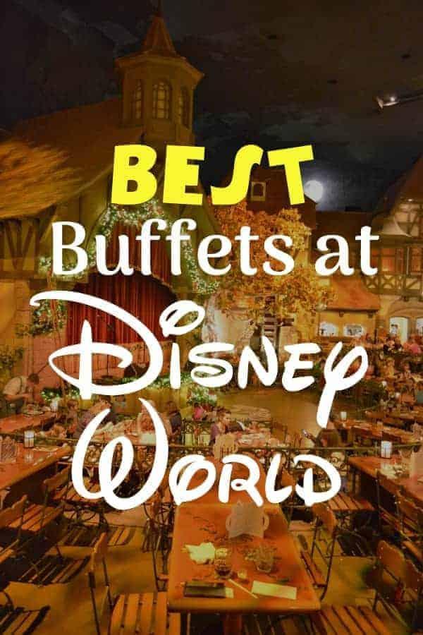 List of the Best Disney World Buffets