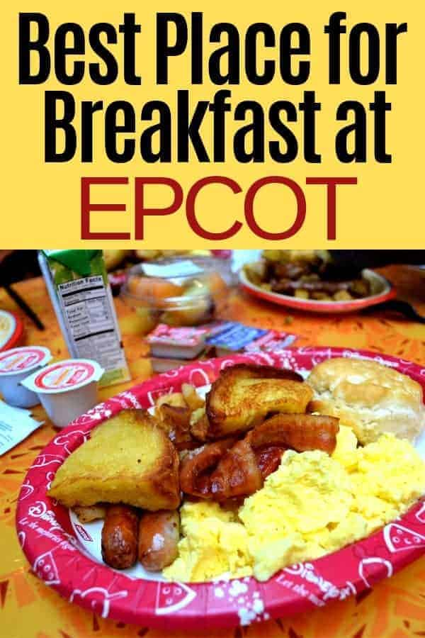 Best Place to Grab Breakfast in Epcot