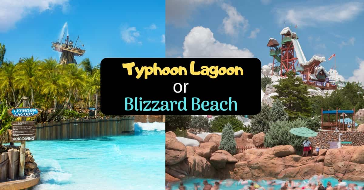 Choosing Between Typhoon Lagoon or Blizzard Beach