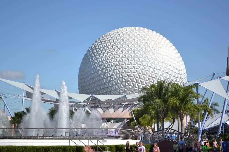 Spaceship Earth Epcot Ball