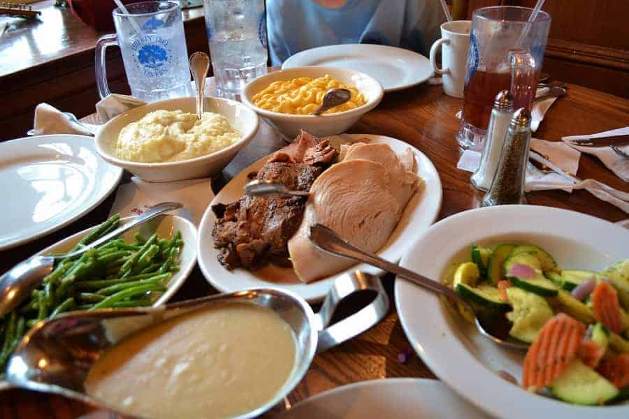 Traditional Thanksgiving Meal at Liberty Tree Tavern