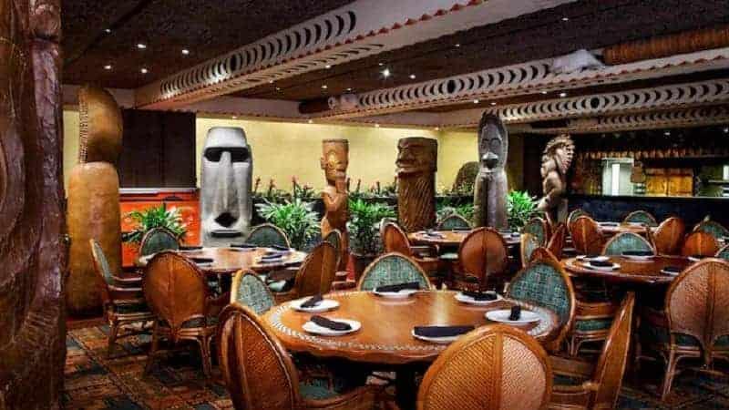 Ohana Restaurant in Polynesian