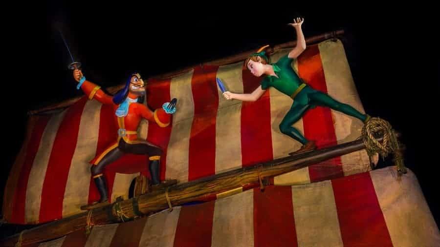 Peter Pan Ride at Magic Kingdom