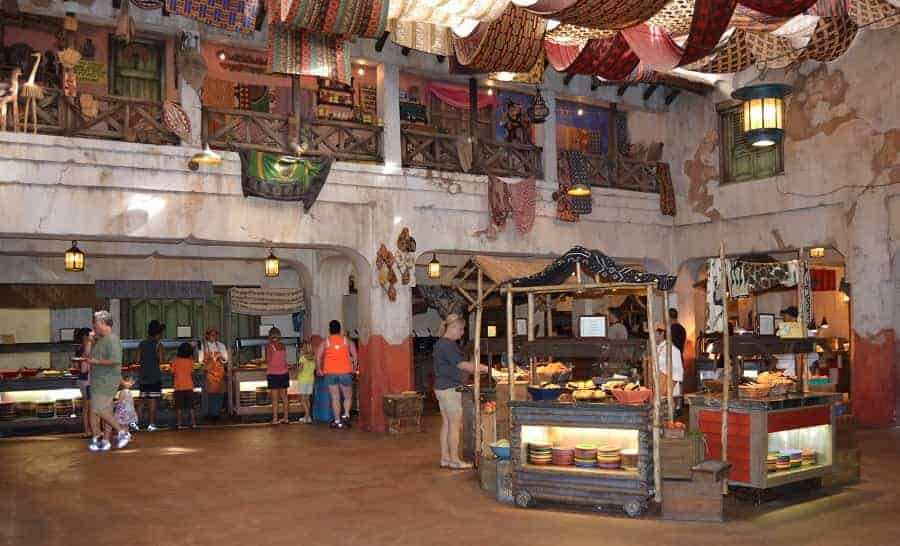 Tusker House Buffet in Animal Kingdom