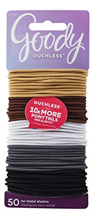 Goody Women's Ouchless Hair Elastics