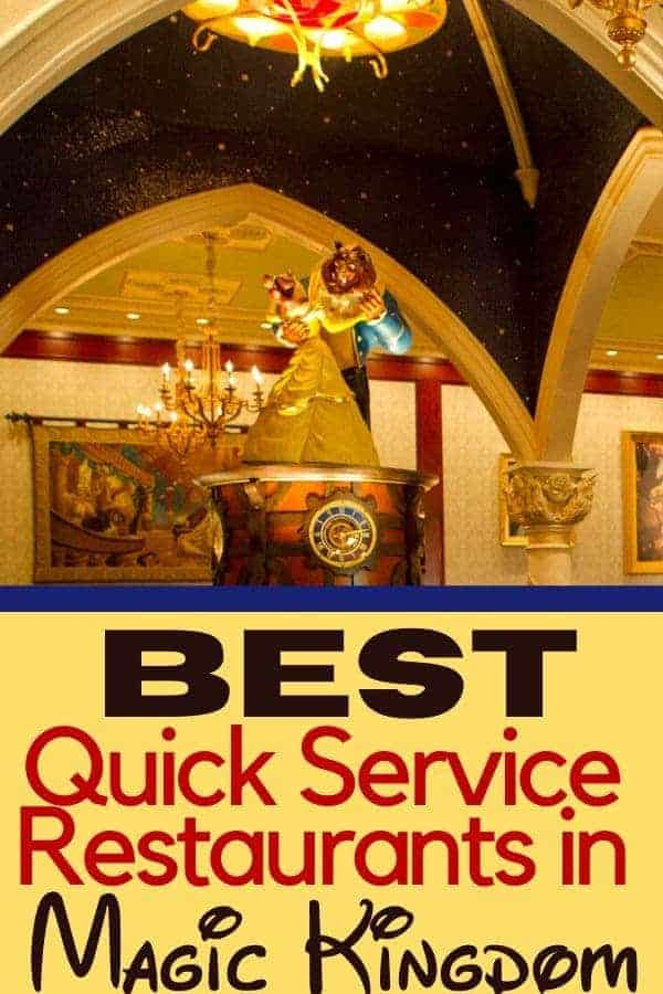 3 Best Quick Service Magic Kingdom Restaurants