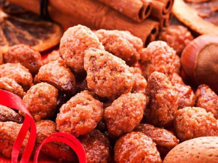 Crock Pot Cinnamon Sugared Almonds