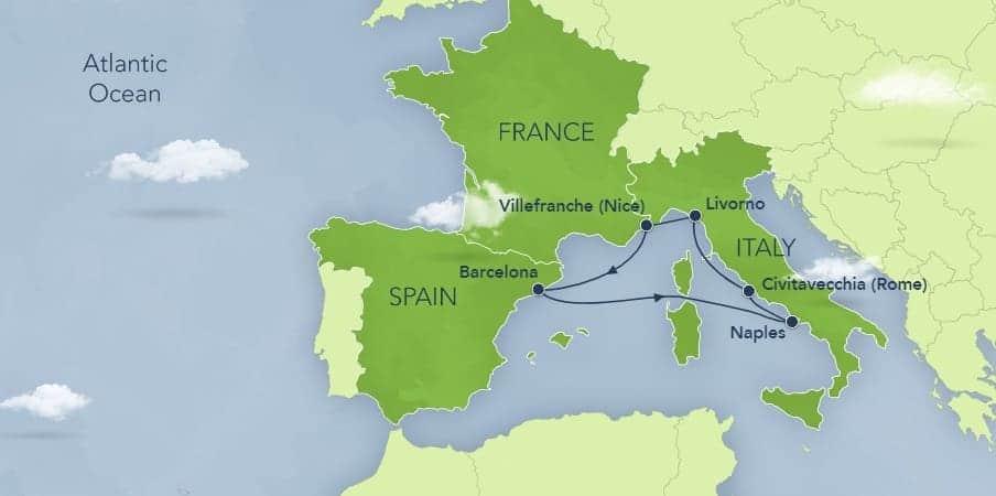 Disney Cruise to Mediterranean
