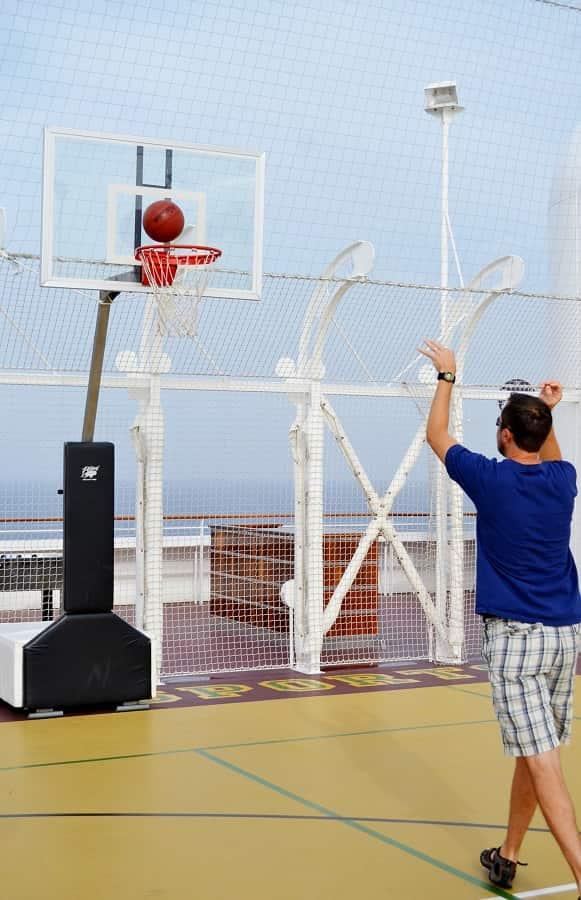 Disney Dream Basketball Court