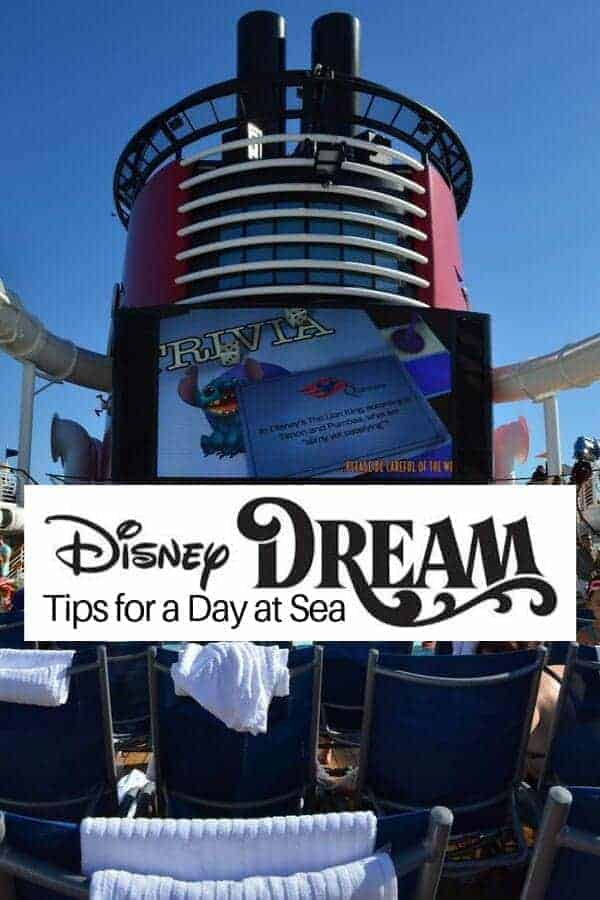 All The Disney Cruise Tips You Need To Know Before: Disney Dream Cruise Tips For Your Day At Sea