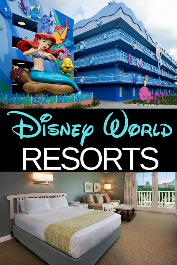 Complete List of Disney World Resorts