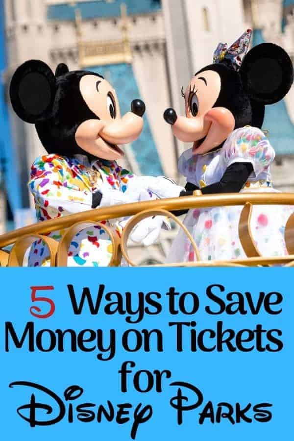 How to Save Money on Disney World Tickets