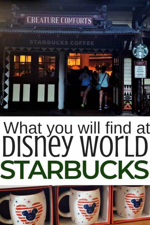 What You'll Find at Starbucks in Disney World