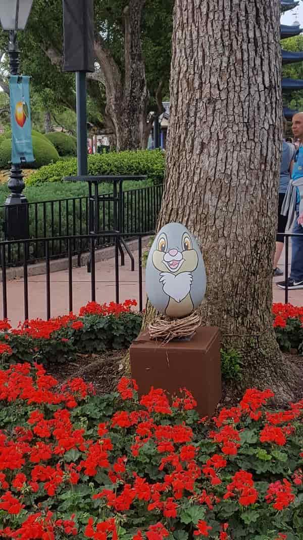 Disney Easter Egg Hunt at Epcot