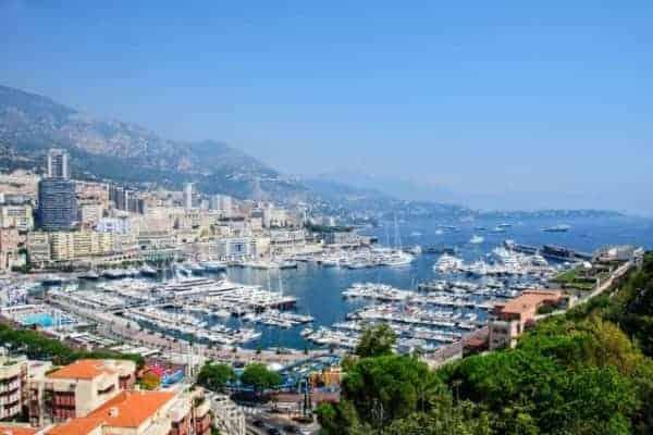 Villefranche to Nice, Monte Carlo and Monaco
