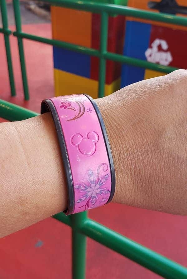 Disney MagicBands Decorated with Tattoos
