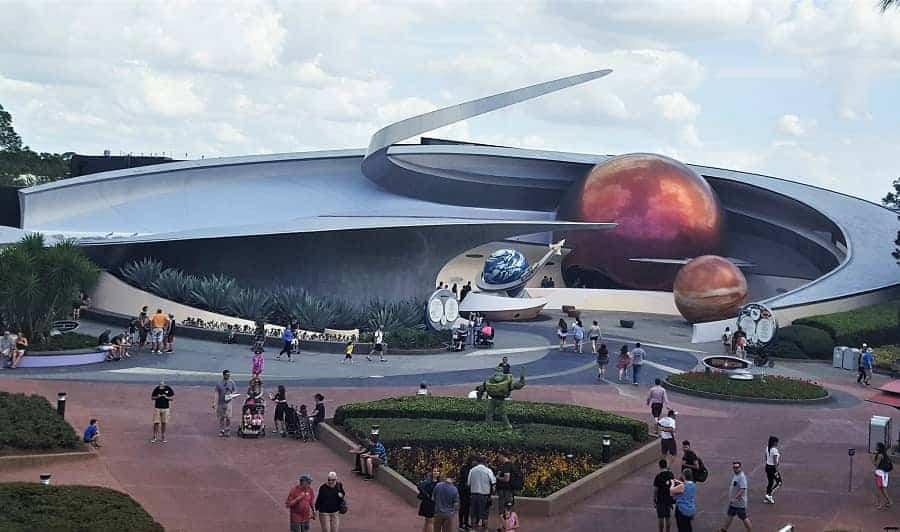 Mission Space Ride
