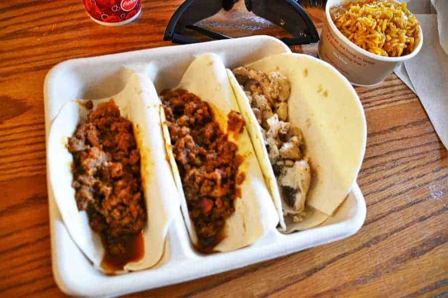 Tacos at Pecos Bill