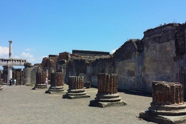 Pompeii and Naples, Italy