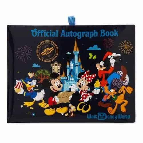Mickey Mouse and Friends Walt Disney World Autograph Book