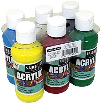 Primary Acrylic Paint Set