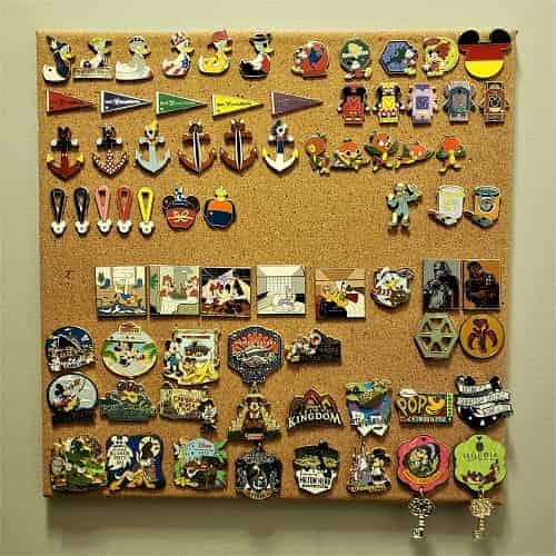 Disney Pin Collection