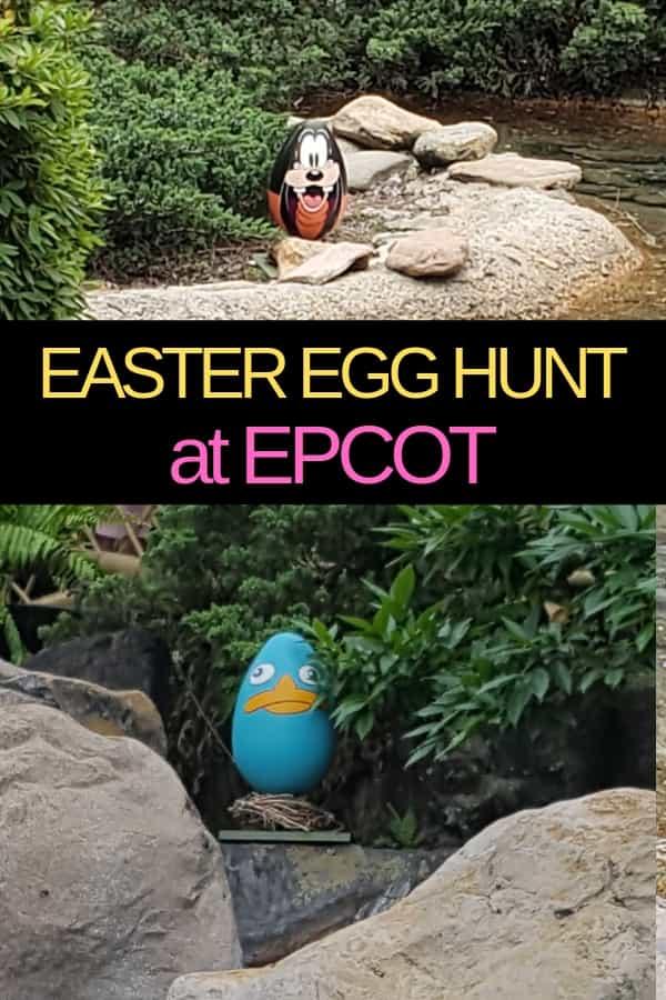 Easter at Disney World: Easter Egg Hunt at Epcot