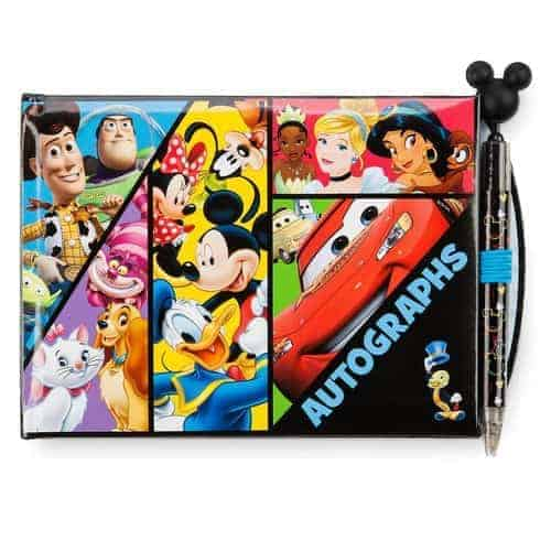 World of Disney Autograph Book with Pen
