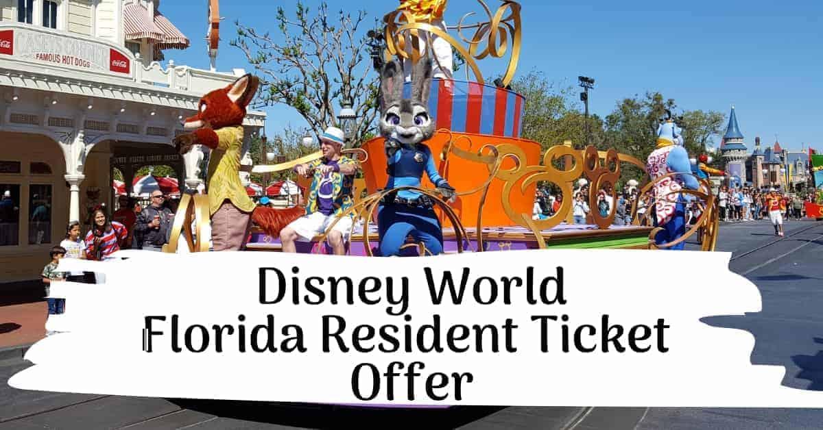 disney world tickets discount florida resident