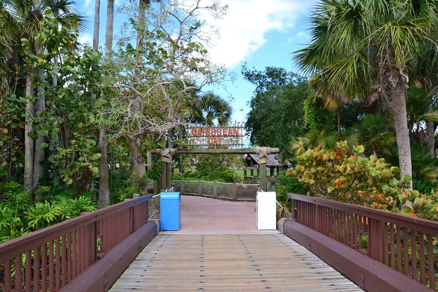 Caribbean Beach Resort Trails
