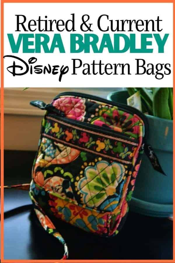 Retired & Current Vera Bradley Disney Patterns