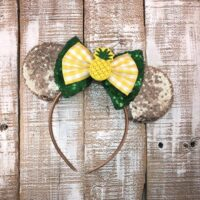 Pineapple Minnie Ears